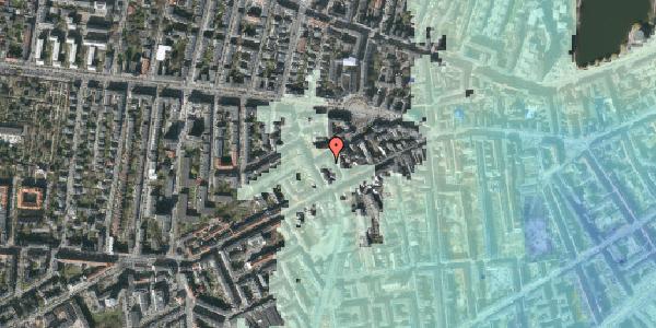 Stomflod og havvand på Brorsonsgade 7, 3. th, 1624 København V