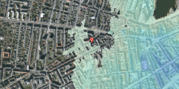 Stomflod og havvand på Brorsonsgade 8, 4. th, 1624 København V