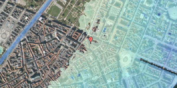 Stomflod og havvand på Christian IX's Gade 3, 3. tv, 1111 København K