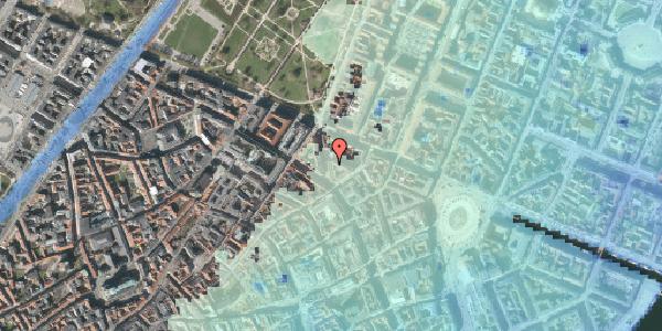 Stomflod og havvand på Christian IX's Gade 6, 4. tv, 1111 København K