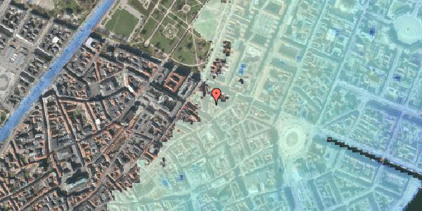 Stomflod og havvand på Christian IX's Gade 6, 5. th, 1111 København K