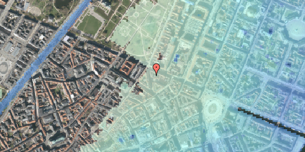 Stomflod og havvand på Christian IX's Gade 8, st. , 1111 København K