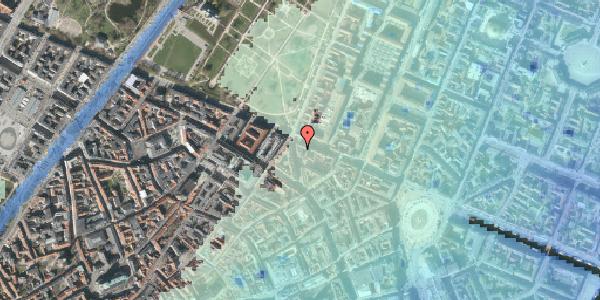 Stomflod og havvand på Christian IX's Gade 10, kl. , 1111 København K