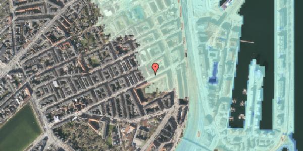 Stomflod og havvand på Classensgade 59, 3. tv, 2100 København Ø