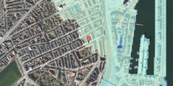 Stomflod og havvand på Classensgade 61, 1. 2, 2100 København Ø