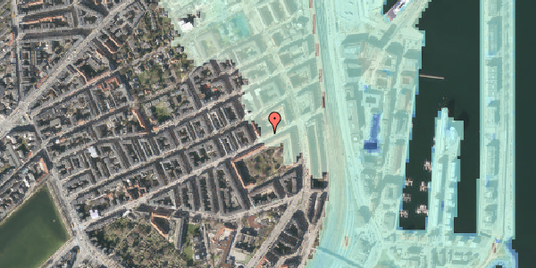 Stomflod og havvand på Classensgade 61, 2. 3, 2100 København Ø