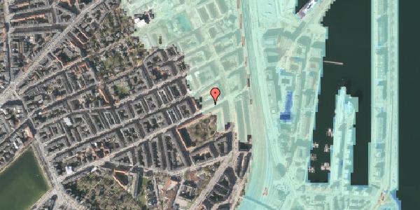 Stomflod og havvand på Classensgade 63, 1. 1, 2100 København Ø