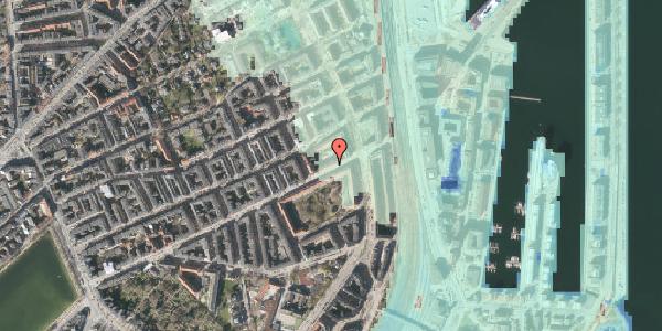 Stomflod og havvand på Classensgade 63, 1. 3, 2100 København Ø