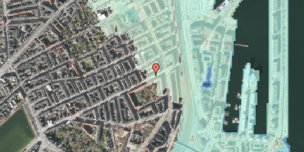 Stomflod og havvand på Classensgade 63, 5. 2, 2100 København Ø