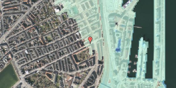 Stomflod og havvand på Classensgade 65, st. 1, 2100 København Ø