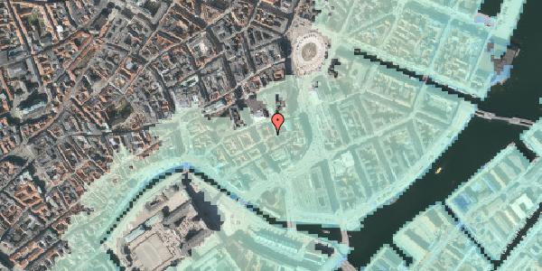 Stomflod og havvand på Dybensgade 2, 1. , 1071 København K