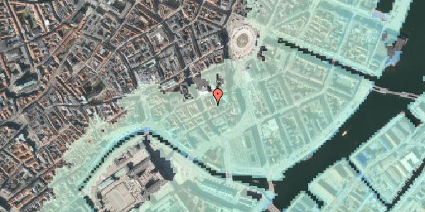 Stomflod og havvand på Dybensgade 2, 2. , 1071 København K