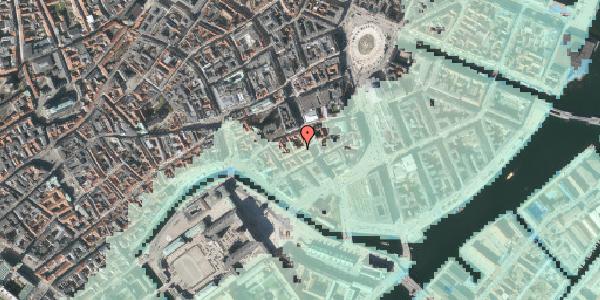 Stomflod og havvand på Dybensgade 16, st. th, 1071 København K