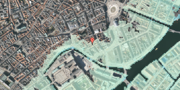 Stomflod og havvand på Dybensgade 21, st. , 1071 København K
