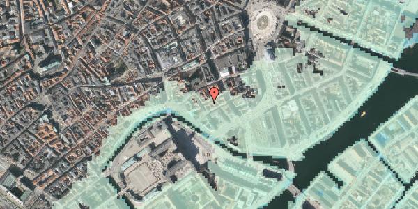 Stomflod og havvand på Dybensgade 21, 3. , 1071 København K