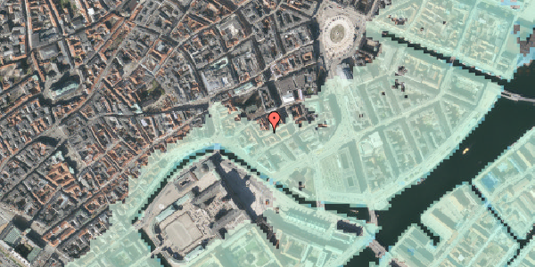 Stomflod og havvand på Dybensgade 22, 4. , 1071 København K