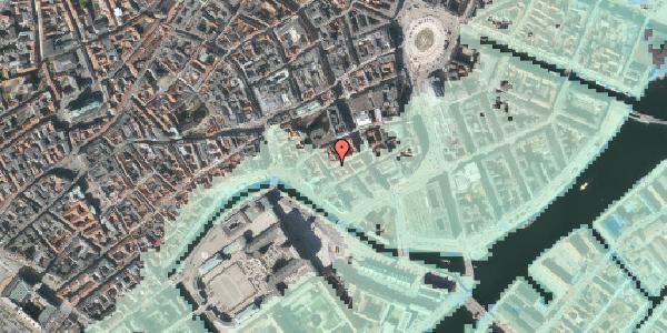 Stomflod og havvand på Dybensgade 24, st. , 1071 København K