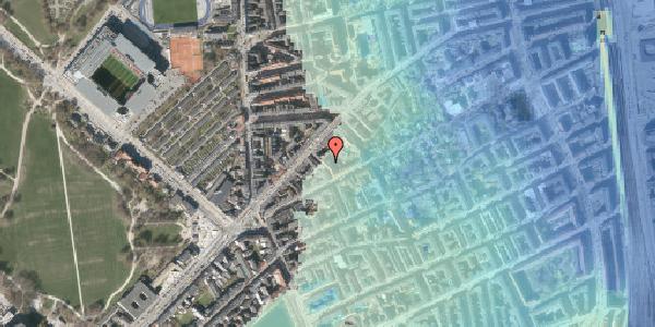 Stomflod og havvand på Faksegade 16, 1. tv, 2100 København Ø