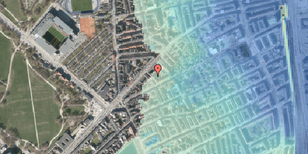 Stomflod og havvand på Faksegade 16, 2. th, 2100 København Ø