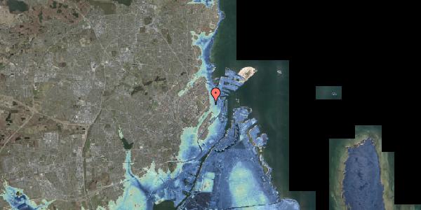 Stomflod og havvand på Faksegade 18, 1. th, 2100 København Ø
