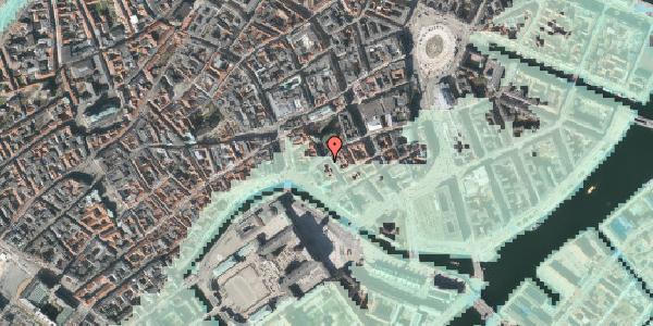 Stomflod og havvand på Fortunstræde 1, 3. tv, 1065 København K