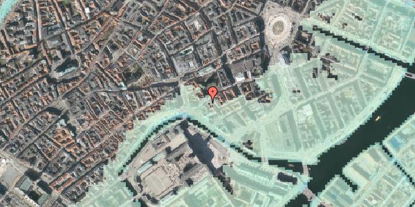 Stomflod og havvand på Fortunstræde 3, st. , 1065 København K