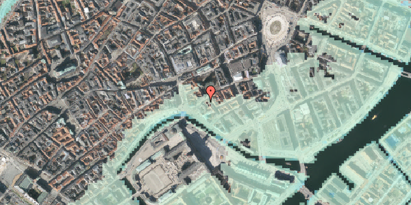 Stomflod og havvand på Fortunstræde 3, 2. , 1065 København K