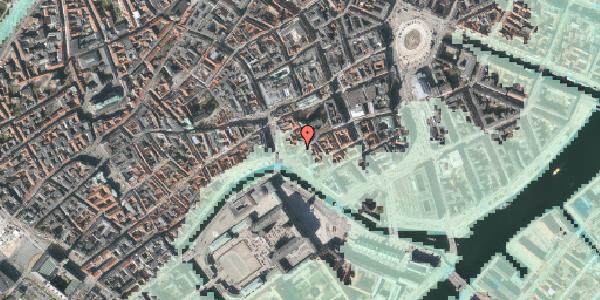 Stomflod og havvand på Fortunstræde 4, 3. , 1065 København K