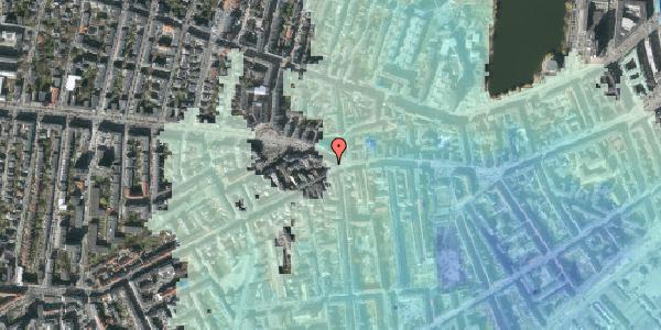 Stomflod og havvand på Frederiksberg Allé 1, 1621 København V