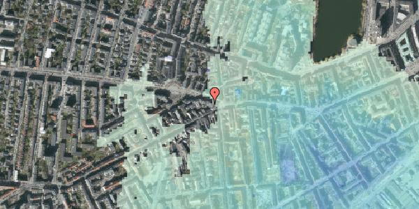Stomflod og havvand på Frederiksberg Allé 3, 5. , 1621 København V