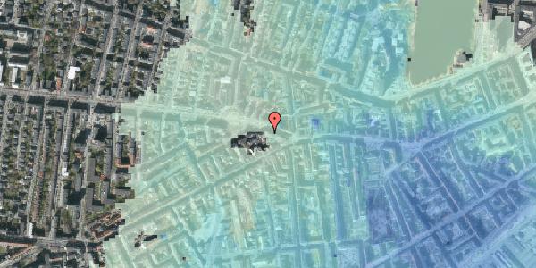 Stomflod og havvand på Frederiksberg Allé 5, 4. th, 1621 København V
