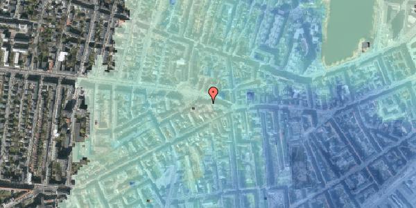 Stomflod og havvand på Frederiksberg Allé 7, 2. tv, 1621 København V