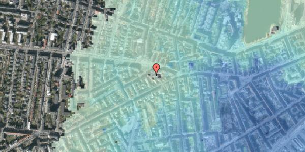 Stomflod og havvand på Frederiksberg Allé 11A, 4. th, 1621 København V