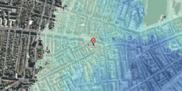 Stomflod og havvand på Frederiksberg Allé 11B, 4. tv, 1621 København V