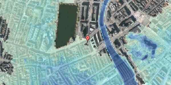 Stomflod og havvand på Gammel Kongevej 1, 2. tv, 1610 København V