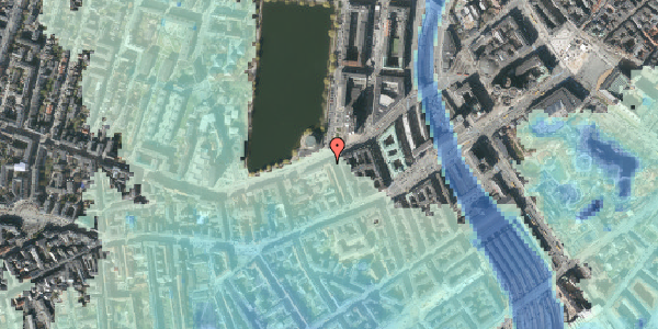 Stomflod og havvand på Gammel Kongevej 9, 3. th, 1610 København V