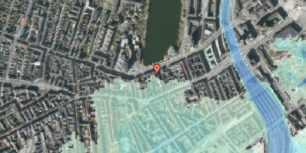 Stomflod og havvand på Gammel Kongevej 21A, 4. tv, 1610 København V