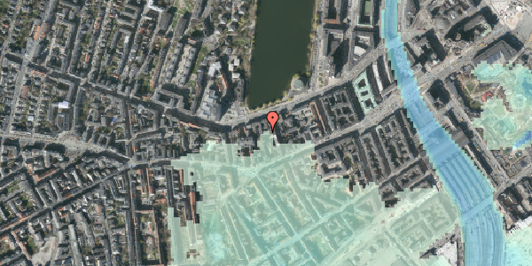 Stomflod og havvand på Gammel Kongevej 21B, 2. th, 1610 København V