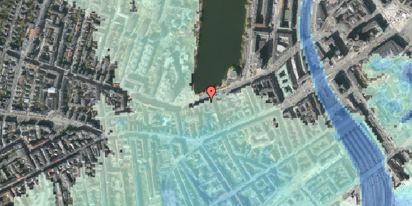 Stomflod og havvand på Gammel Kongevej 21, 4. th, 1610 København V