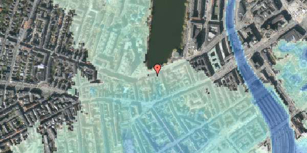 Stomflod og havvand på Gammel Kongevej 23, 5. , 1610 København V