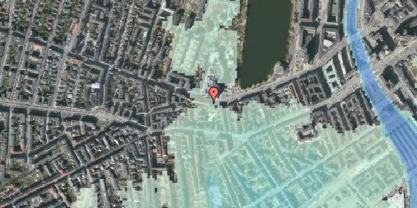 Stomflod og havvand på Gammel Kongevej 33A, st. tv, 1610 København V