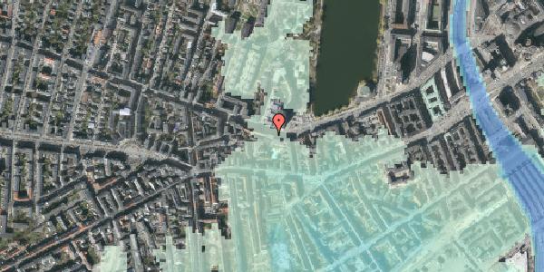 Stomflod og havvand på Gammel Kongevej 33A, 2. th, 1610 København V