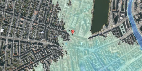 Stomflod og havvand på Gammel Kongevej 41, kl. , 1610 København V