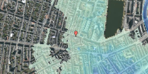 Stomflod og havvand på Gammel Kongevej 51, 4. tv, 1610 København V
