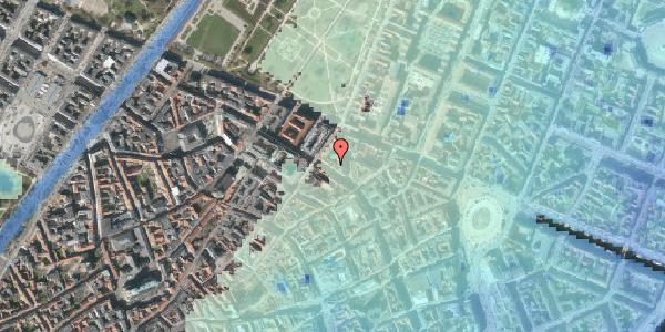 Stomflod og havvand på Gammel Mønt 12, kl. , 1117 København K