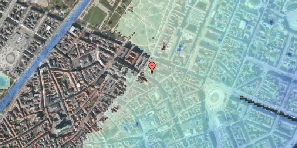 Stomflod og havvand på Gammel Mønt 12, 4. th, 1117 København K