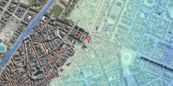 Stomflod og havvand på Gammel Mønt 14, st. 2, 1117 København K