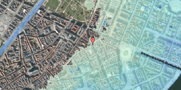 Stomflod og havvand på Gammel Mønt 17, kl. tv, 1117 København K