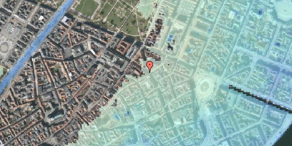 Stomflod og havvand på Gammel Mønt 19, kl. , 1117 København K