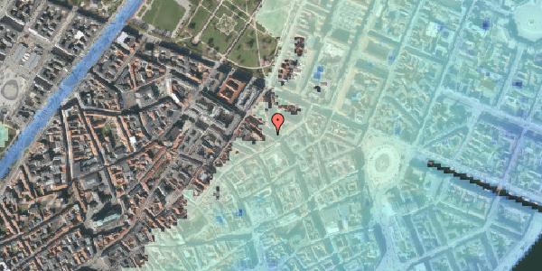 Stomflod og havvand på Gammel Mønt 21, 3. , 1117 København K